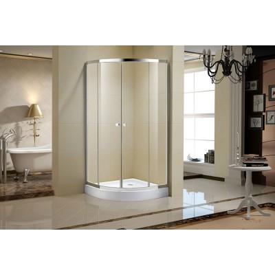 Porte de douche en verre clair 36 po - Séréna C
