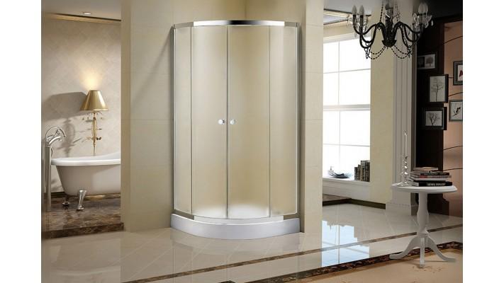 "Frosted shower door glass 36"" - Séréna F"