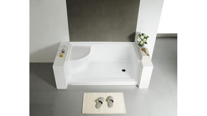 "Shower base 60"" - Edelweiss R"