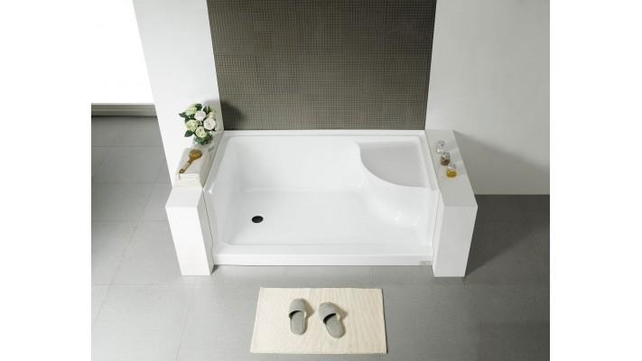"Shower base 60"" - Edelweiss L"