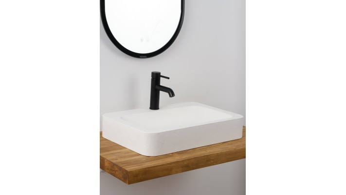 "Semi-washbasin 24"" - Majestic l"
