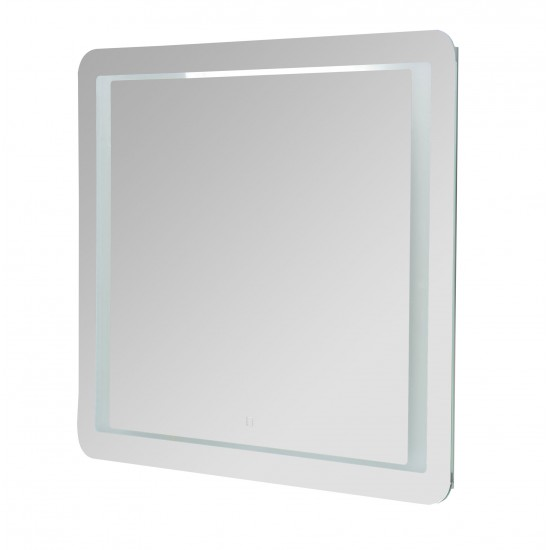 Miroir LED - Perroquet
