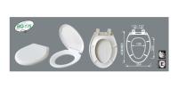 Siège de toilette allongé à fermeture lente - Nasaya