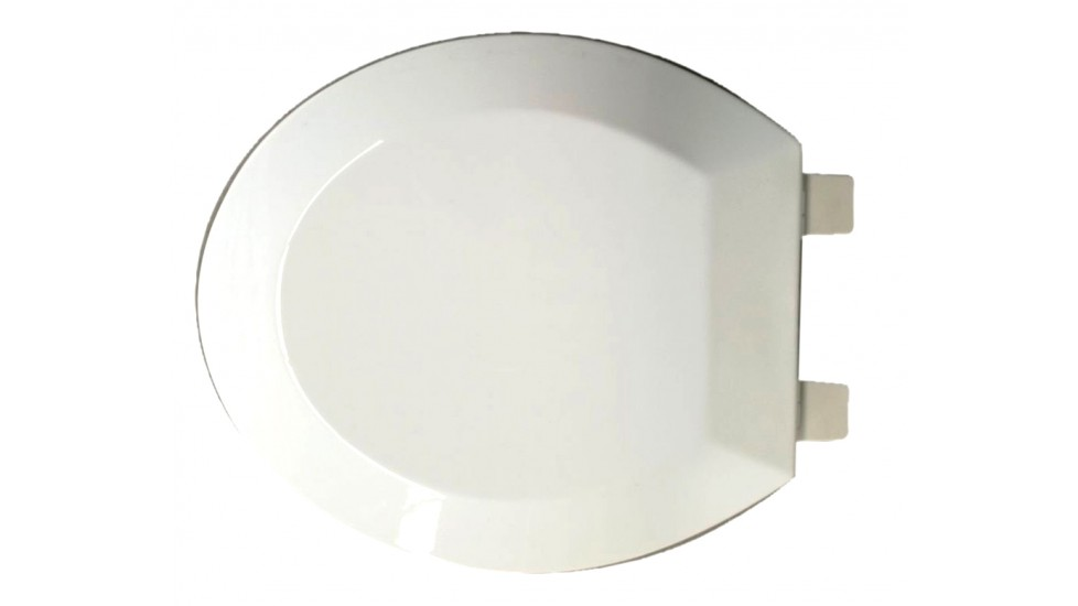 Siège de toilette rond à fermeture lente - Yasur