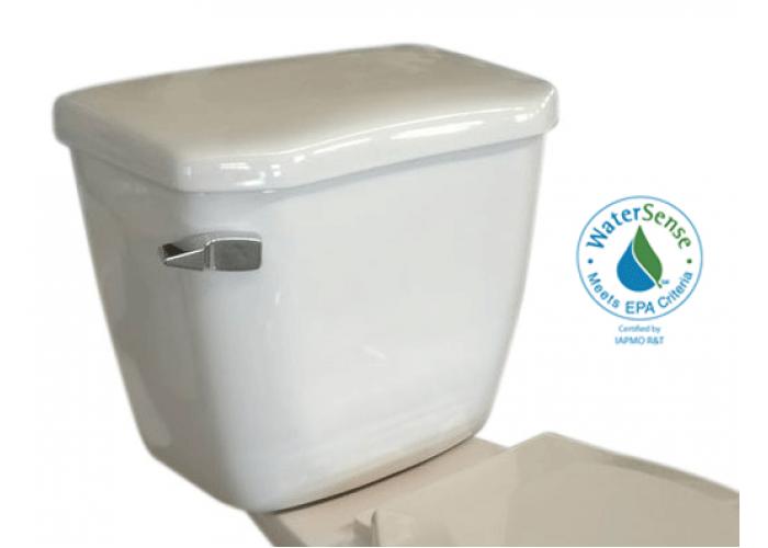 Réservoir toilette allongé simple chasse - Sotara