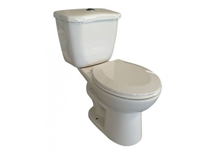 Toilette ronde double chasse  - Etna
