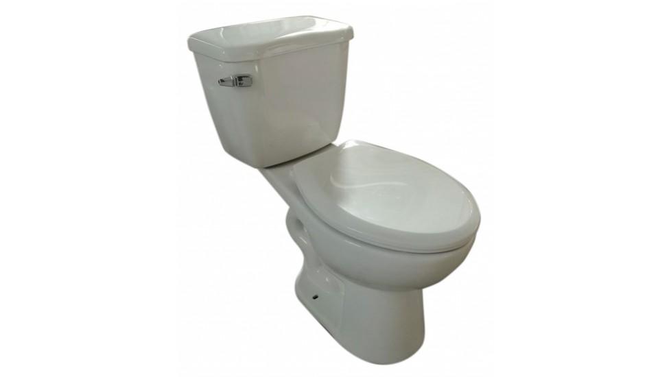 Toilette Allongé à hauteur idéal simple chasse  - Sotara