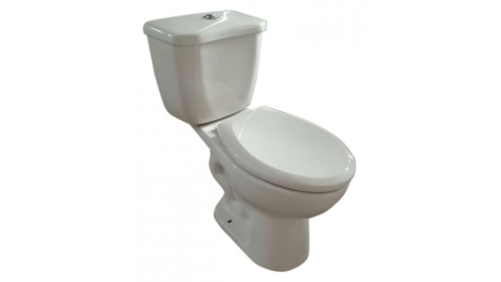 Toilette allongé à hauteur idéal double chasse  - Nabro