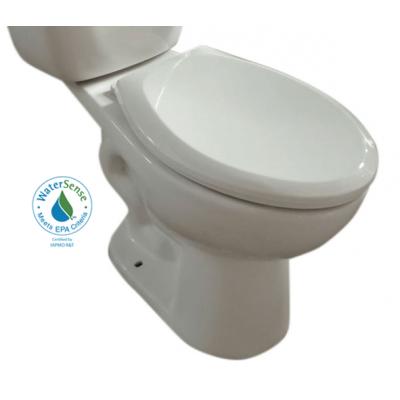 Cuvette de toilette allongée à hauteur idéal 17 3/8 po