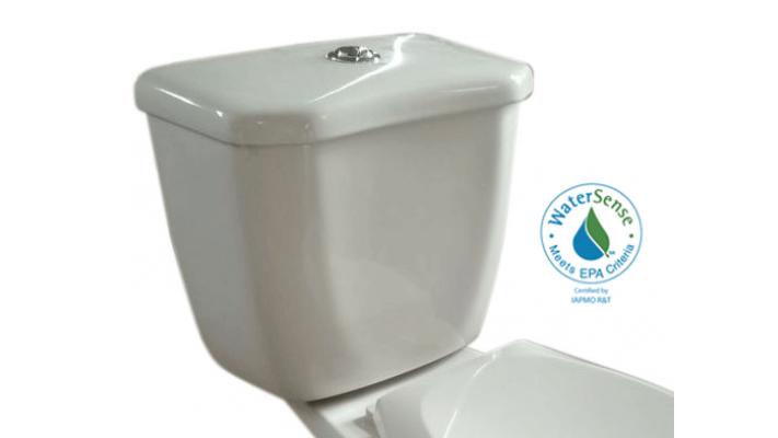 Round toilet tank dual flush - Etna